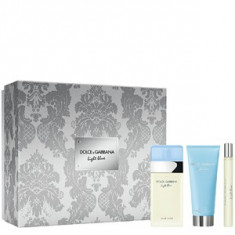 Dolce&Gabbana Light Blue Set 100+100+10 pentru femei