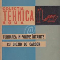 Turnarea in forme intarite cu bioxid de carbon