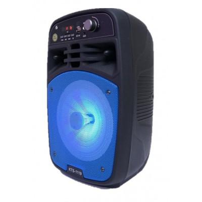 Boxa Bluetooth KTS-1119 radio,mp3 , telecomanda + microfon foto