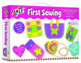Set creativ de cusut pentru copii Galt, 5 ani+