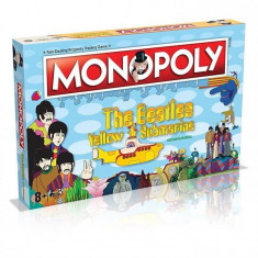 Board Game Monopoly The Beatles Yellow Submarine