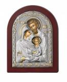 Icoana Argint Sfanta Familie, 6x8.5cm Cod Produs 2722