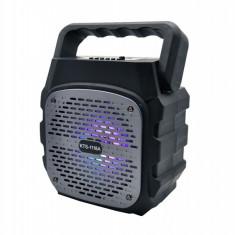 Boxa portabilă bluetooth KTS-1118A , radio, mp3 + microfon cadou