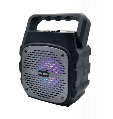 Boxa portabila bluetooth KTS-1118A +microfon foto