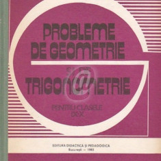 Probleme de geometrie si de trigonometrie