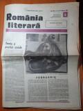 Romania literara 9 februarie 1989-art. si foto victor eftimiu