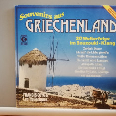 Souvenirs of Greece – Selectii (1979/K-Tell/RFG) - VINIL/Vinyl/Analog/Impecabil