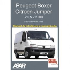 Manual Peugeot Boxer / Citroen Jumper ( 2001-2006 )