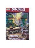 Lego Ninjago Cartea secretelor (carte jurnal + jucărie + lacăt + 2 chei)