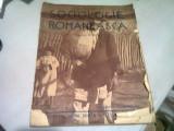 SOCIOLOGIE ROMANEASCA NR. 9-10/1937 - DIRECTOR D. GUSTI