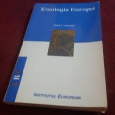 JEAN CUISENIER - ETNOLOGIA EUROPEI