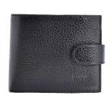 Portofel piele barbati, din piele naturala, marca Bond, 501-281-01-P-19, negru