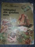 Carte veche cu ilustratii 1985,INTAMPLARI DIN GRADINA MEA,Ana Blandiana,colectie