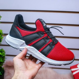 Pantofi sport Asumari rosii cu negru -rl