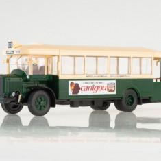 Macheta autobuz RENAULT TN 6 - 1934 scara 1:43