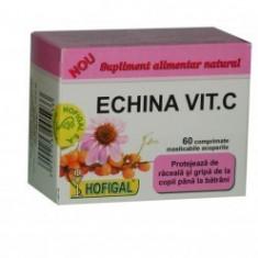 Echina Vit C 60 comprimate masticabile - Hofigal