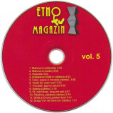 CD Vărul Săndel – Etno TV Magazin Vol. 5, original, holograma