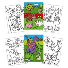 Early Activities: Prima carte de colorat cu abtibilduri Galt, 24 pagini, 3 ani+