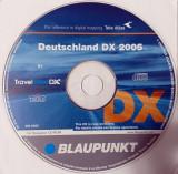 CD original Navigatie GPS Blaupunkt Travel Pilot DX GERMANIA 2005