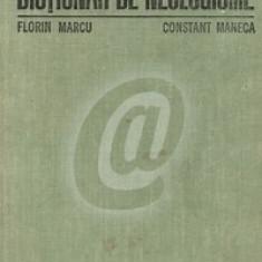 Dictionar de neologisme. Editia a III-a