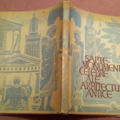 Sapte Monumente Celebre Ale Arhitecturii Antice - Cele Sapte Minuni, Alta editura, 1965