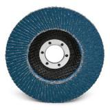 Disc abraziv lamelar cu zirconiu Proline, 180 mm, granulatie 40