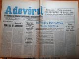 Ziarul adevarul 9 ianuarie 1990-articole revolutia romana,primul miting liber