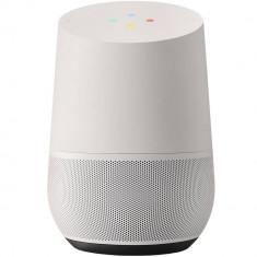 Boxa portabila inteligenta Google Home Control Voce Asistent Personal Gri / Alb