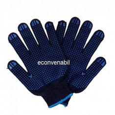 Set 2 Manusi de Protectie cu Picouri PVC in Palma HG546