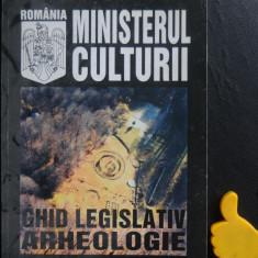 Ghid legislativ Arheologie