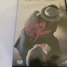 henry and june - dvd