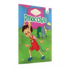 Pinocchio - Povesti de colorat cu sabloane