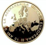 50 BANI 2017 - 10 ani de la aderarea României la Uniunea Europeană - PROOF