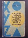 CULEGERE DE EXERCITII SI PROBLEME ALGEBRA SI GEOMETRIE SCOALA GENERALA Arimescu