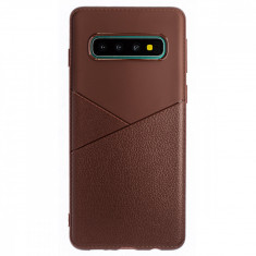 Husa Silicon Slim Samsung Galaxy S10 Maro Arm