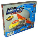 Jucarie Set constructii metalice Avion de lupta 100 piese