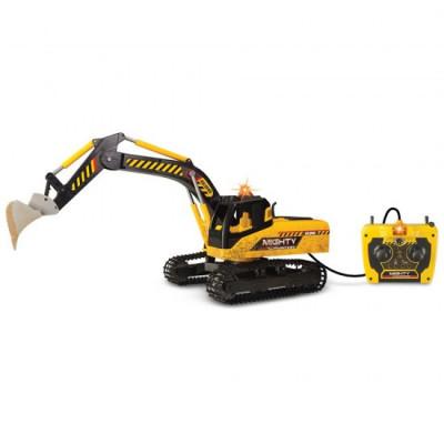Excavator Dickie Toys Mighty cu telecomanda foto