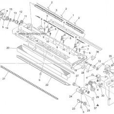 Gear 20T Developing Minolta bizhub 162 / 163 - 4021-5213-01 / 4021521301, Componente, Konica Minolta