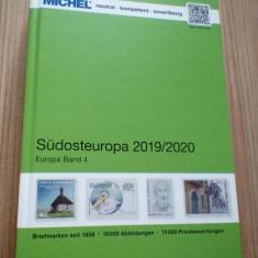Catalog Michel ROMANIA 2019-2020 NOU  ( include Grecia, Turcia,Bulgaria)