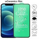 Folie Protectie ecran antisoc, Full Glue , Samsung G965 Galaxy S9 Plus , Ceramica 10D , Full Face , Transparent Blister