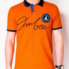 Tricou barbati polo S909 portocaliu
