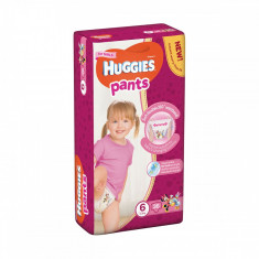 Scutece Huggies Mega Pants Girls, Nr 6, 15 - 25 Kg, 36 buc