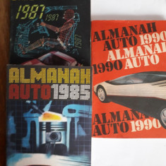 Almanah Auto 1985 + 1987 + 1990 /  C52P