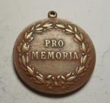 Medalie Regele Carol I 1914 - Pro Memoria
