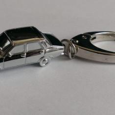 Breloc metalic - macheta Dacia 1300 de la DeAgostini nou, in cutia originala