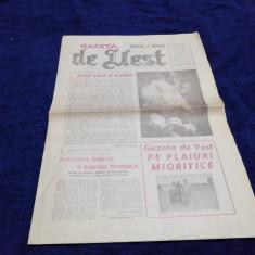 ZIARUL GAZETA DE VEST   NR 13 14  APRILIE 1990
