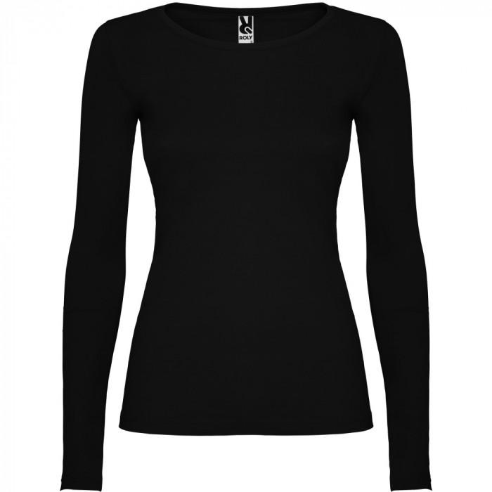 Tricou cu maneca lunga, dama, Extreme, negru