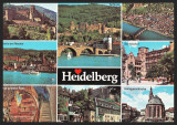 GERMANIA - HEIDELBERG - SCHLOSS - KORNMARKT - COLAJ - CP CIRCULATA #colectosfera