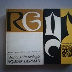 Dictionar frazeologic german - roman/roman - german 2 volume