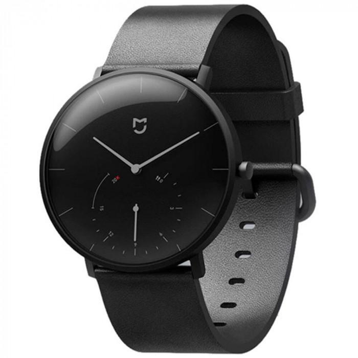 Smartwatch Xiaomi Mijia Quartz, Bluetooth, Pedometru, Waterproof IP67, Negru